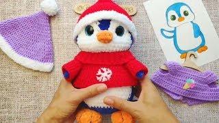 Мастер-класс по вязанию крючком «Плюшевый Пингвин»: обзор игрушки амигуруми