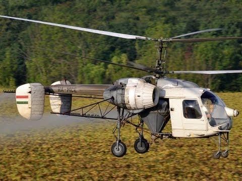 Kamov Ka-26 HA-MCE agricultural flight near Bakonybánk
