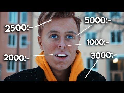 Spenderar 10.000kr på mitt utseende