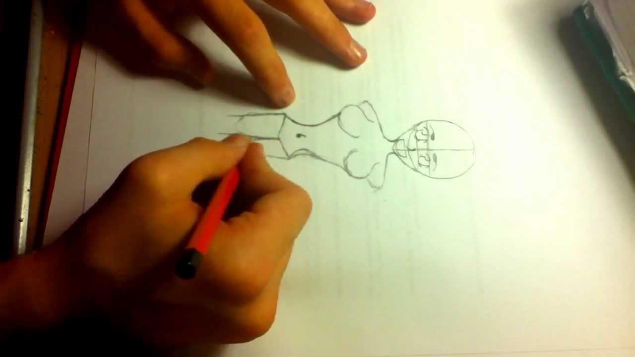 Manga Work TV/Wie zeichnet man ein Manga körper einer Frau - YouTube