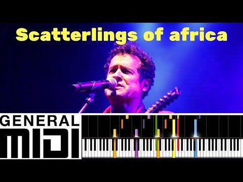 Scatterlings of africa / Johnny Clegg (Instrumental version tutorial)