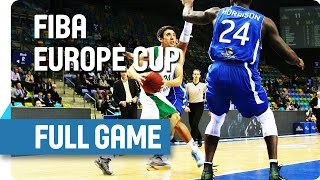 Fraport Skyliners (GER) v KRKA (SLO) - Full Game - Group G - FIBA Europe Cup