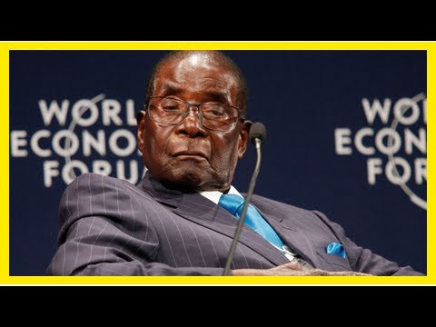 World health organisation rescinds robert mugabe ambassador appointment after outcry|Breaking News