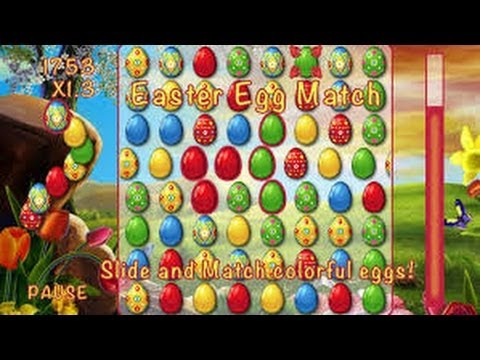 EASTER EGG MATCH BEST KIDS FREE GAME APPLE & ANDROID APP REVIEWED ON  IPHONE 5