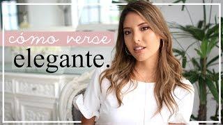 12 TIPS PARA VERSE MÁS ELEGANTE!! | Valeria Basurco