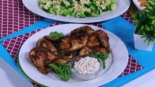 الدجاج المشوي بالتتبيلة البرازيلية - نضال البريحي