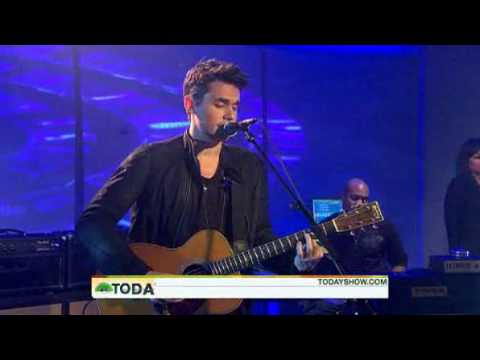 John Mayer Today Show Who Says