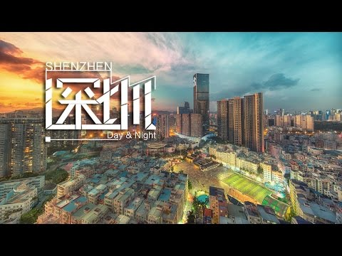 Timelapse of Shenzhen city Day & night | 4K Hyperlapse | 深圳日与夜