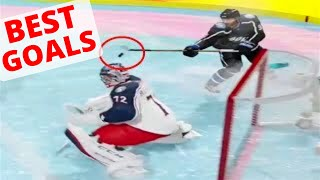 BEST GOALS in NHL 18 (NHL 18 Clips)