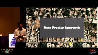 Identifying urban makeshift communities using satellite imagery and geo-coded data.