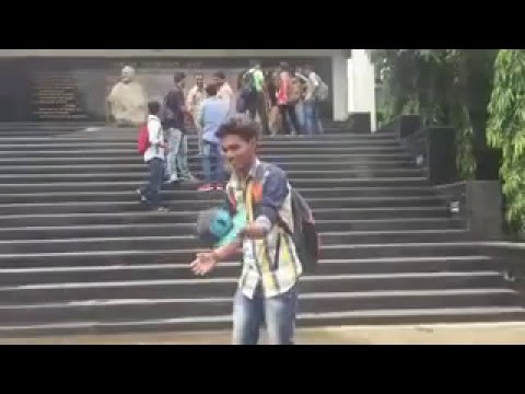 STEPPERS-cap tricks by Rajkiran at Bedekar college-Thane college
