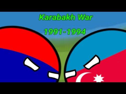 °|Karabağ Savaşı |°Karabakh War°1991-1994°Countryballs #countryball #hocalıkatliamı #karabağsavaşı