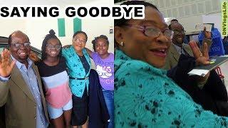 Saying Goodbye To Grandpa and Grandma