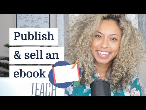 How to publish and sell an eBook online