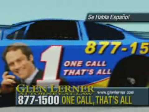 Car Accident - Insurance Company Giving you the Run Around? Call Accident Attorney Glen Lerner!