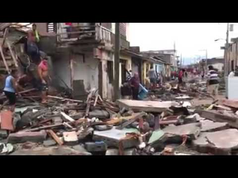 baracoa despues del huracan octubre 2016