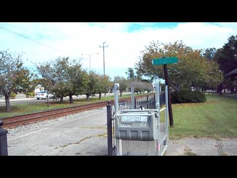 Southbound Norfolk Southern Intermodal, Laurel, Mississippi 9 October 2011