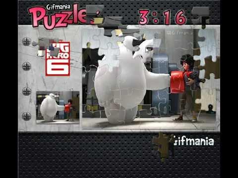 Big Hero 6 Puzzle Games