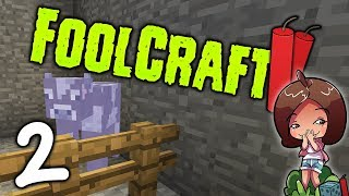 FOOLCRAFT 2 : 2 : The most OP cow in the game?! : Modded Minecraft