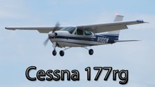 Flying in a Cessna 177rg