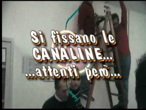 Montare canaline light youtube for Canaline per tubi riscaldamento