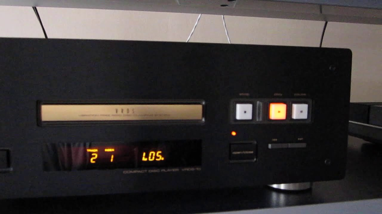 TEAC VRDS 10 Stereo Hi-End CD Player (plays Pop)