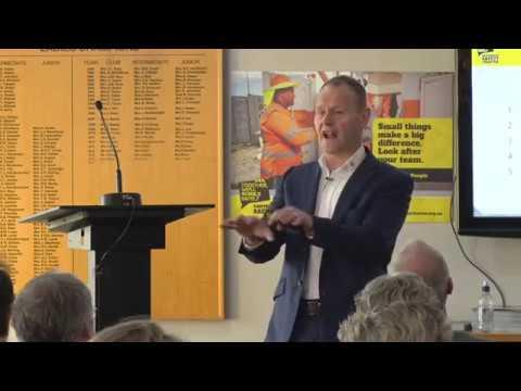 Lance Burdett (WARN International Ltd) - Wellness, Awareness, Resilience & Negotiation