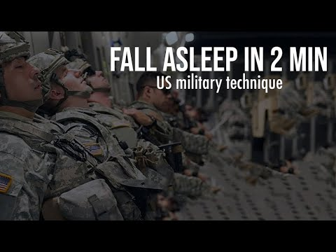 How To Fall Asleep Fast (US Military Technique)