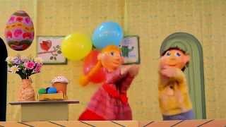 Трогательное видео-поздравление с Пасхой для детей