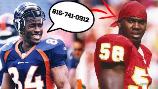 Shannon Sharpe TRASH TALKED A NFL LEGEND By Reciting HIS GIRLFRIEND'S NUMBER IN A GAME!