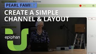 Create a simple channel & layout [Pearl family]