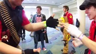 MegaCon 2015 - TF2 cosplayers