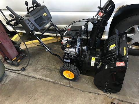 Poulan Pro 27 Inch Snow Thrower/Snow blower Carburetor Rebuild