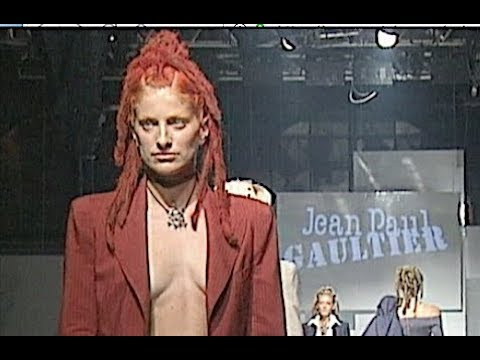 JEAN PAUL GAULTIER Spring Summer 1996 Paris   Fashion Channel