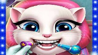 Анжела кошка – Мультфильмы для девочек – Игры кошка – Мультики для девочек – Говорящая кошка - 2017