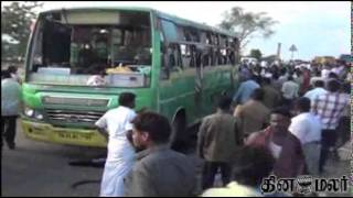 8 Dead in Two Different Accident on Road Near Trichy - Dinamalar April 15th News