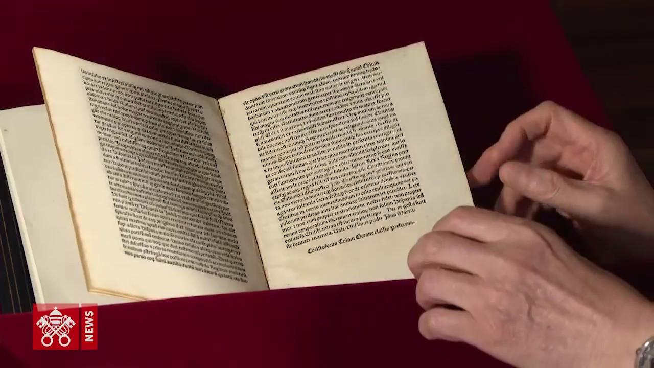 Christopher Columbus Letter To King Ferdinand.A Letter By Christopher Columbus Stolen Returns To The
