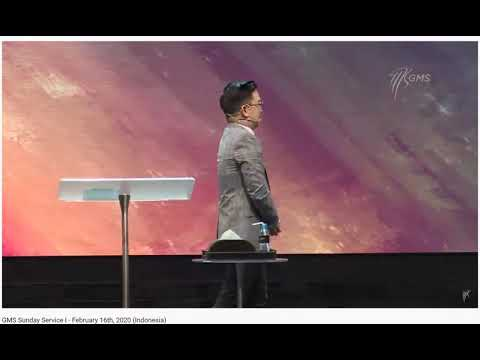 Ps. Yosef Moro - GMS Surabaya - Sunday Service I - 16 Feb 2020