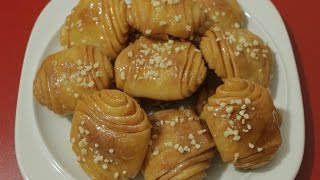 شهيوات رمضان / رغايف مورقين بالمايزينا و معسلين مع طبخ ليلى rghayf