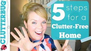 How To Declutter Your Home in 5 Easy Steps