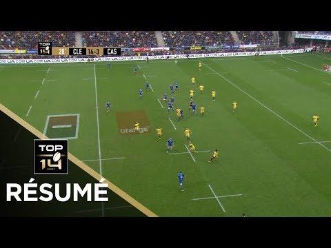 TOP 14 - Résumé Clermont-Castres: 41-6 - J8 - Saison 2018/2019-