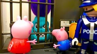 Świnka Peppa i Stworek ♦ Jestem niewinny, Wypuśćcie mnie ♦ Bajka dla dzieci PO POLSKU