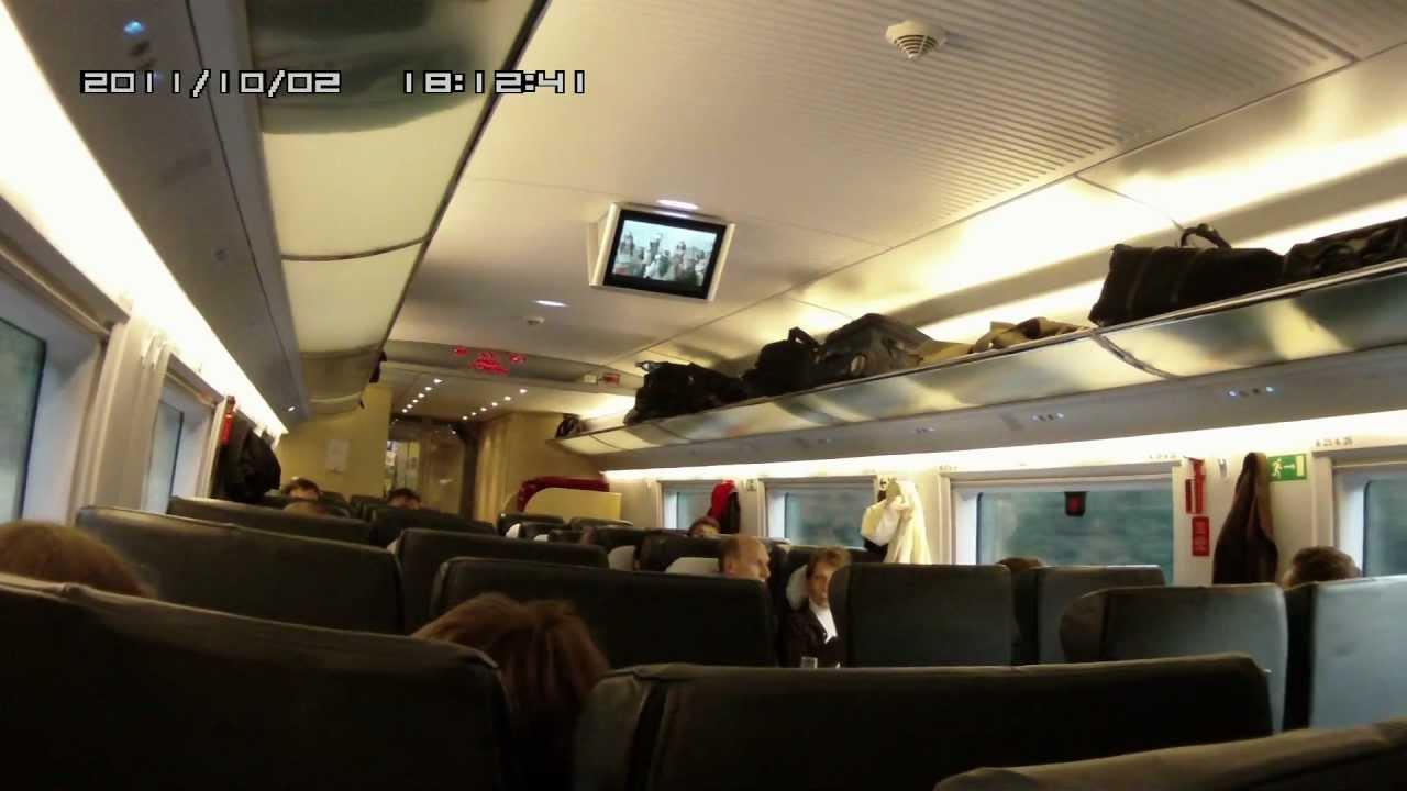 Фото поезда сапсан.