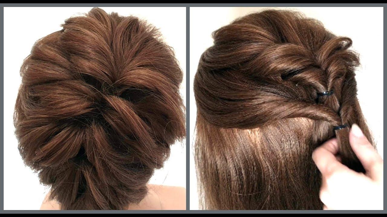Прическа на короткие волосы разной длины.Легкий способ.Hairstyle for short hair.Easy Way