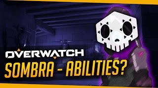 Overwatch | Sombra Abilities? - What a New Hero Really Means