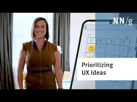 How to Prioritize Ideas from UX Brainstorming Sessions