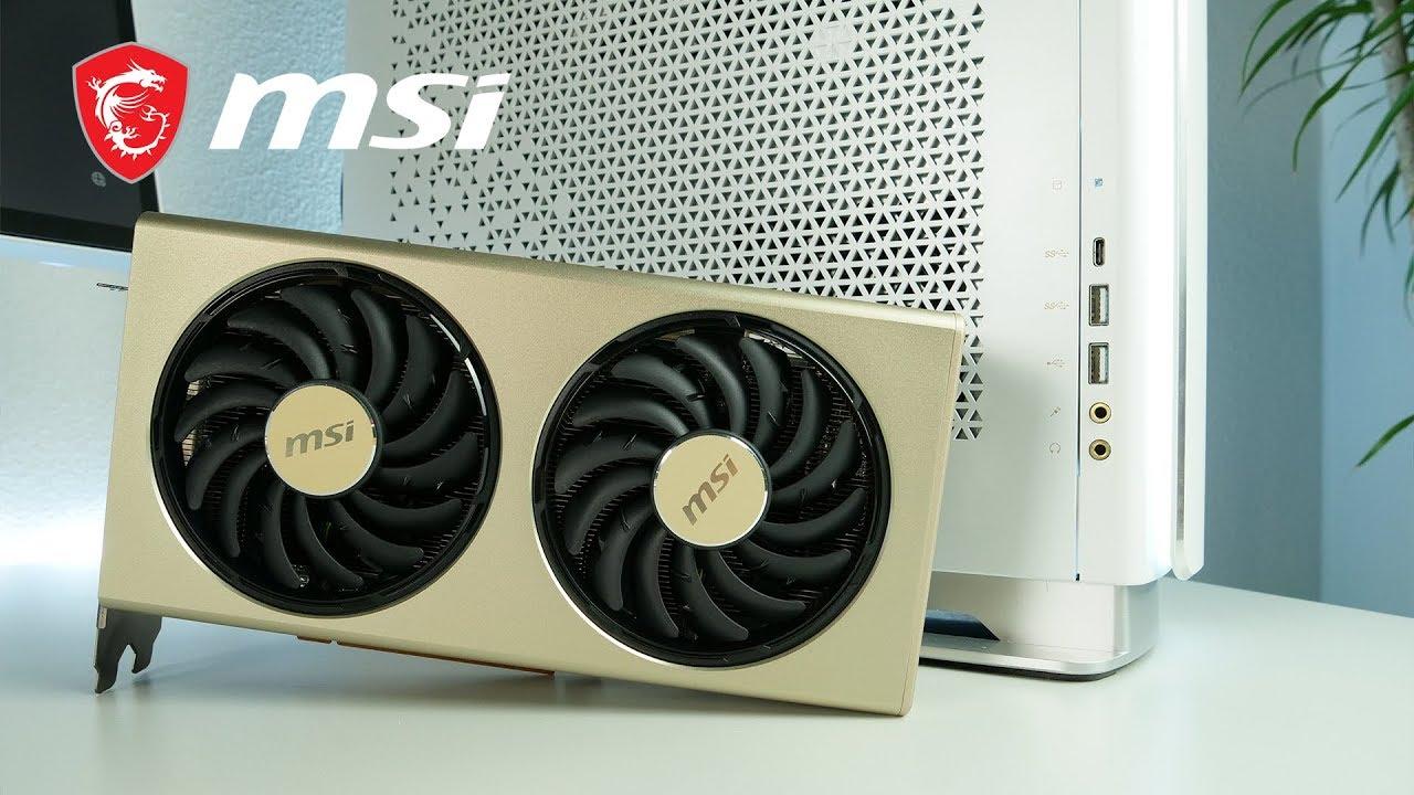 Co łączy kartę graficzną i szampana? - MSI Radeon RX 5700 EVOKE