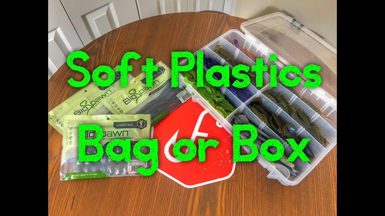 Bag or Box - How to Store Your Soft Plastics