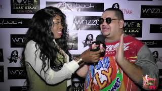 Dancehall King Chrissy at LOVE & HIP HOP Premier NYC