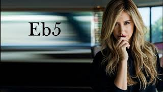 Baixar Ashley Tisdale Vocal Range: G#2 - G5 - E6(Bb6)